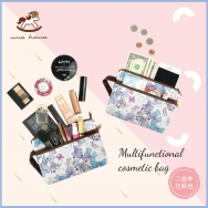 M15 Medium-sized Double Zipper Cosmetic Bags